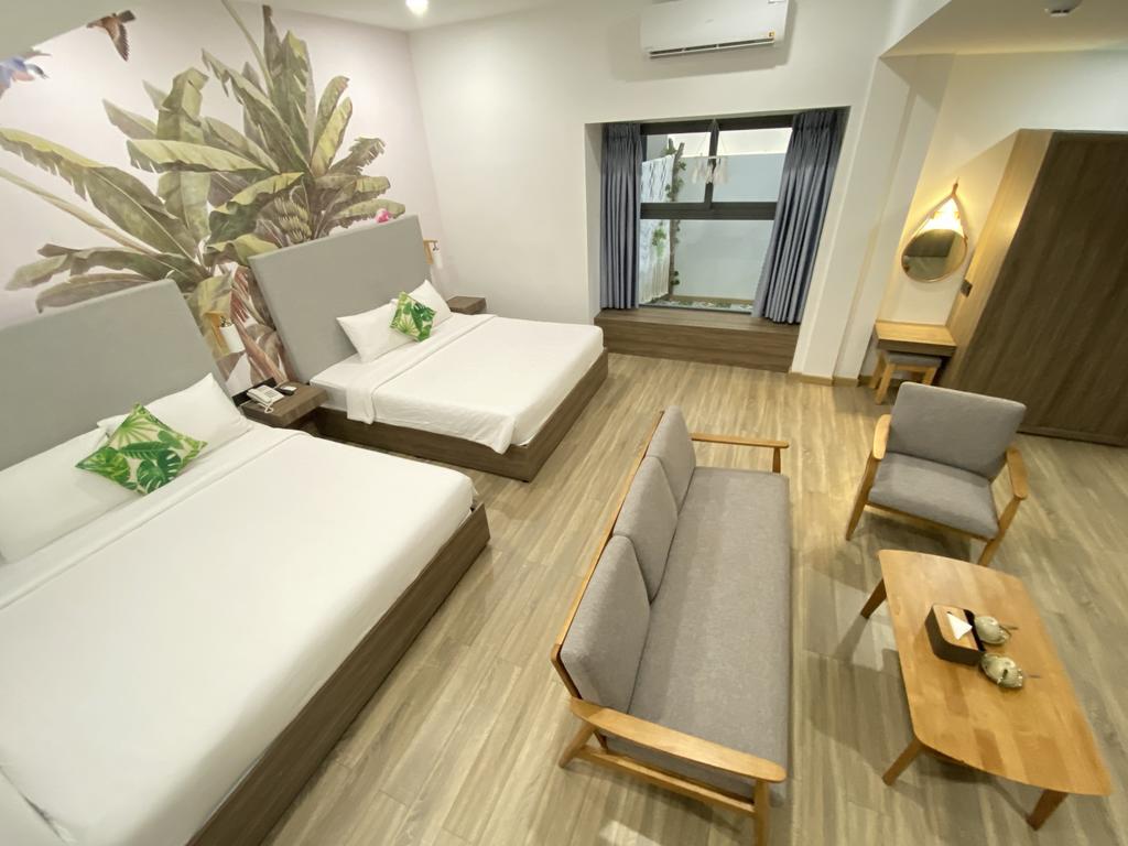 Một góc tại Khách sạn Green Oasis Tuy Hòa