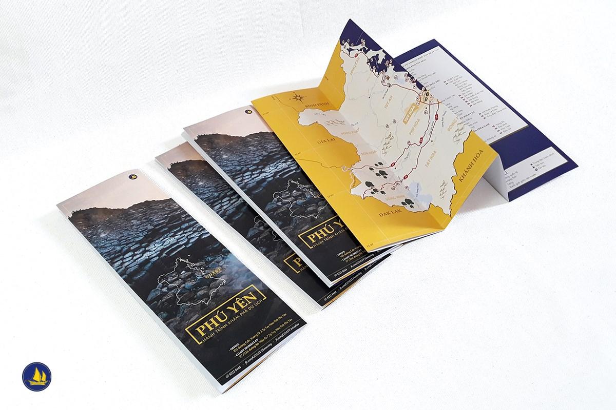 Bản đồ du lịch Phú Yên cho tính team COAST Homestay thực hiện dành tặng du khách