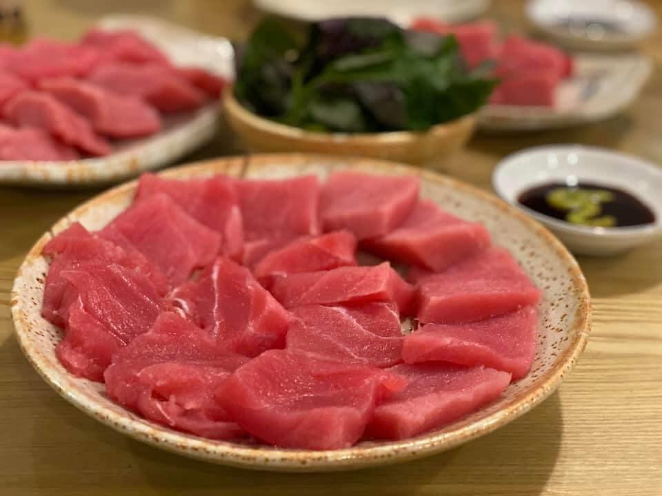 Đặc sản cá ngừ địa phương Phú Yên tại Hunter Pub Tuy Hòa