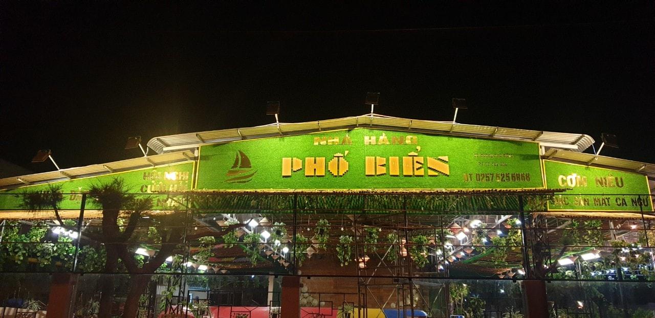 Nhà hàng Phố Biển Tuy Hòa - Một trong những cái tên mới ấn tượng tại Phú Yên