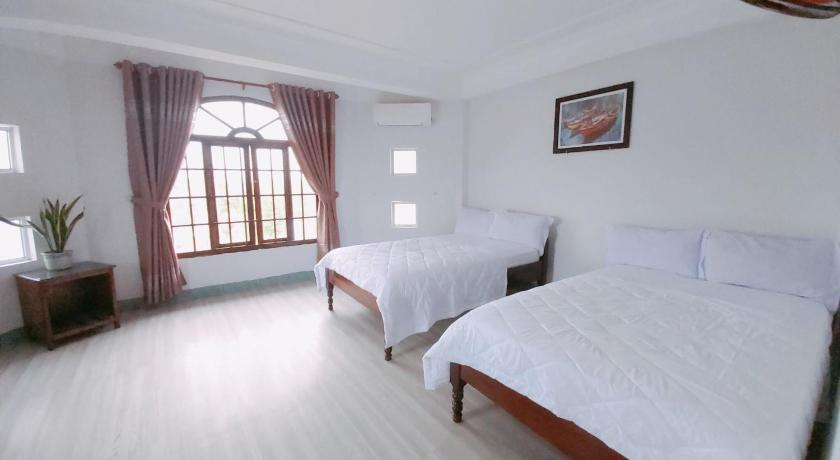 Phòng nghỉ sáng sủa tại khách sạn thanh vân tuy hòa