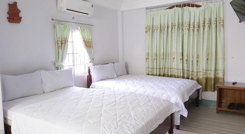 Phòng giường đôi tại khách sạn thanh vân tuy hòa