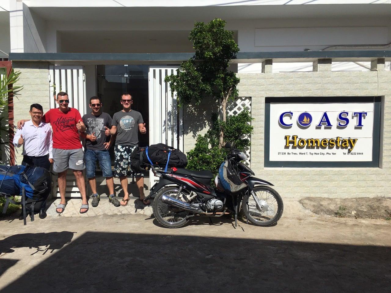 Coast Homestay - khách sạn giá rẻ Phú Yên