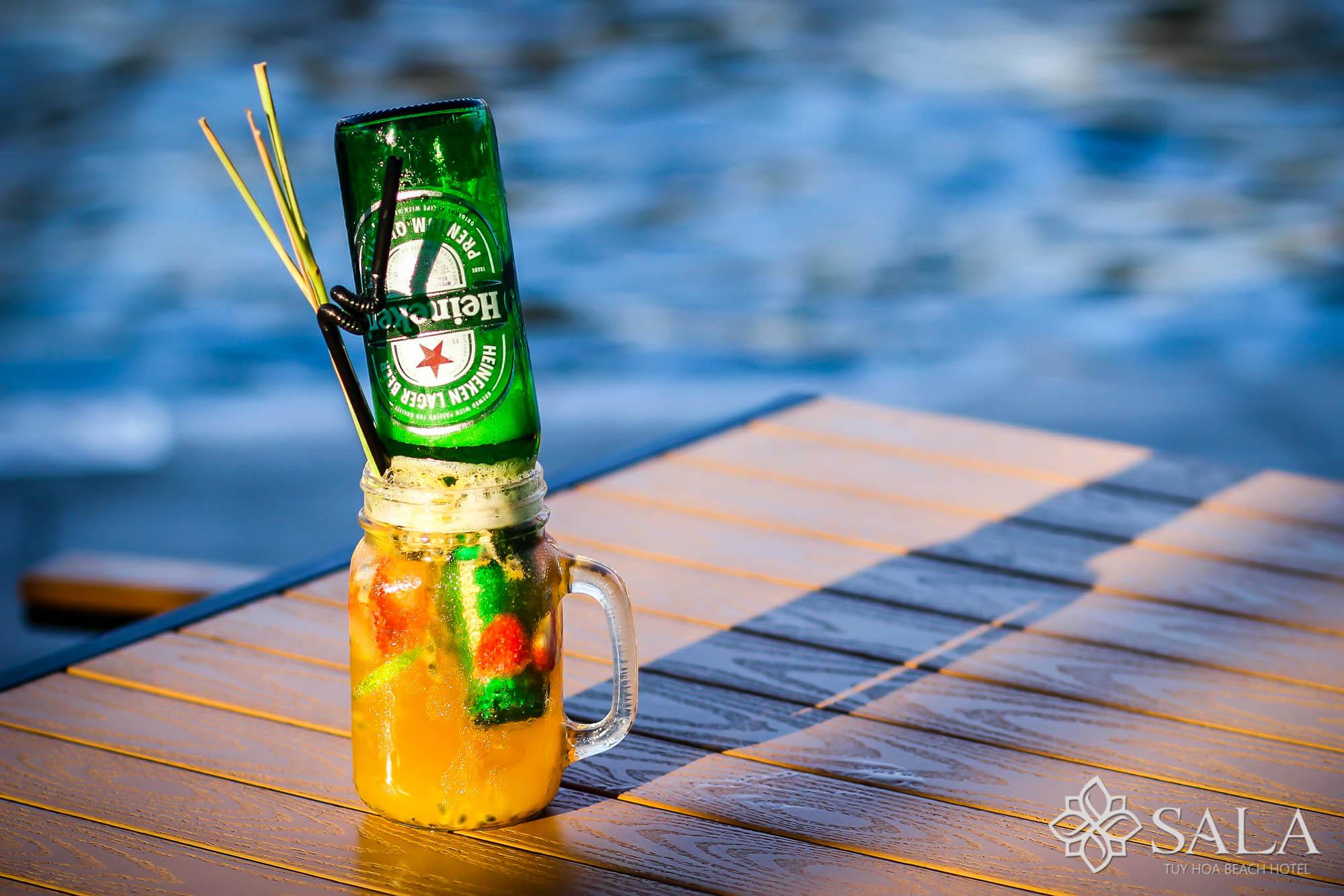 Bia úp ngược - thức uống nổi tiếng của giới trẻ