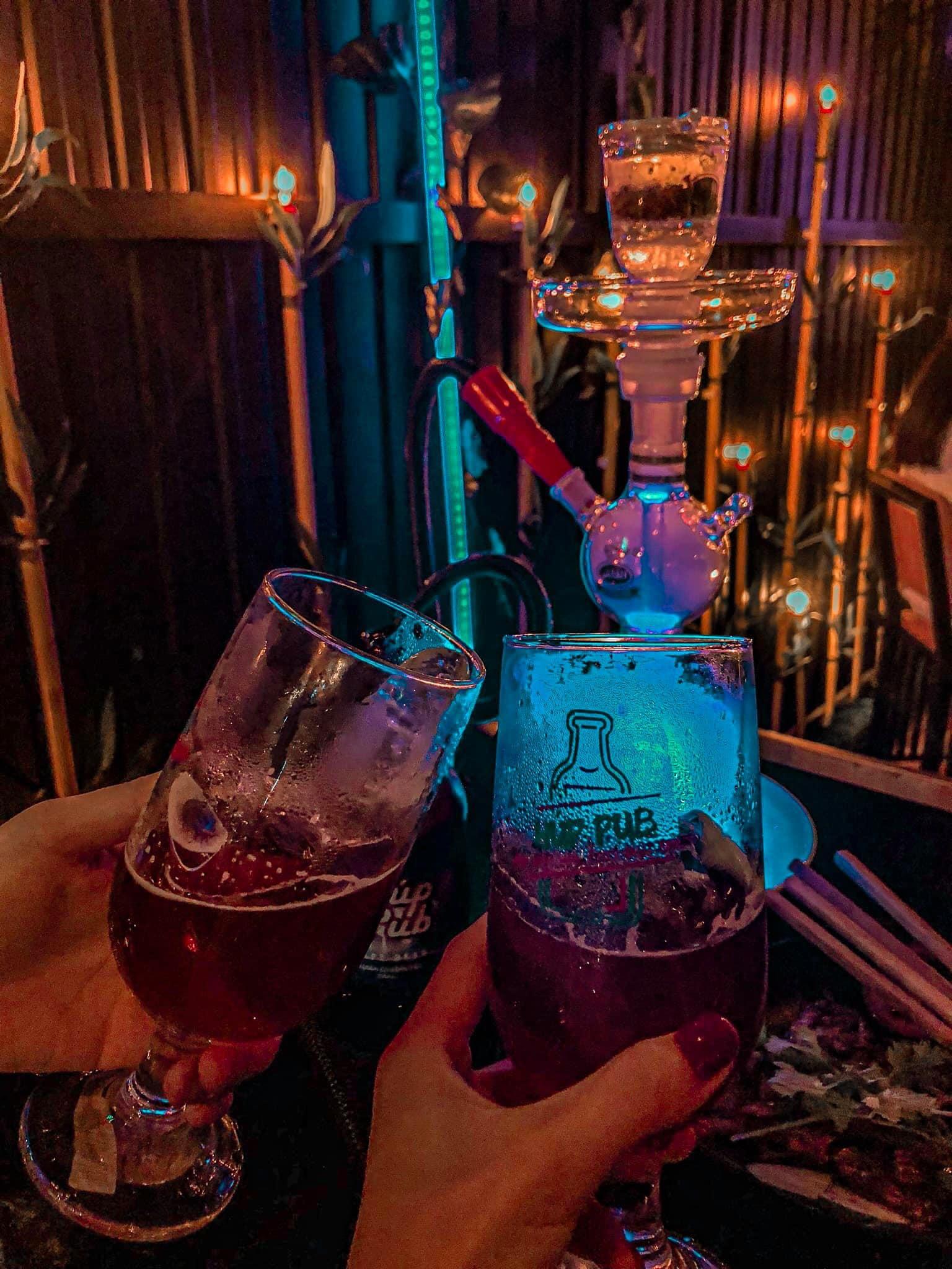 Một trong những quán pub ở Tuy Hòa hiếm hoi mà du khách có thể thưởng thức bia thủ công