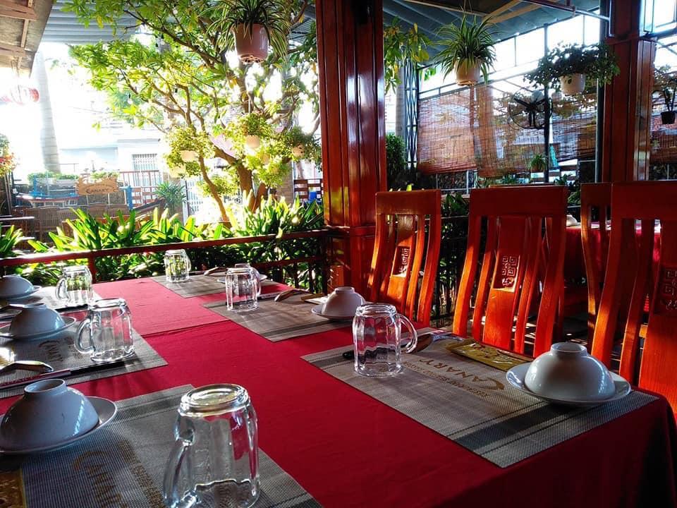 Không gian tại Canary, nhà hàng hải sản Phú Yên