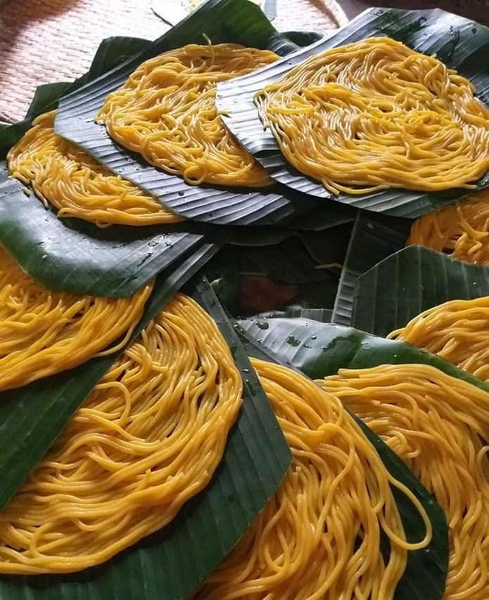 Thành phẩm bún bắp Phú Yên