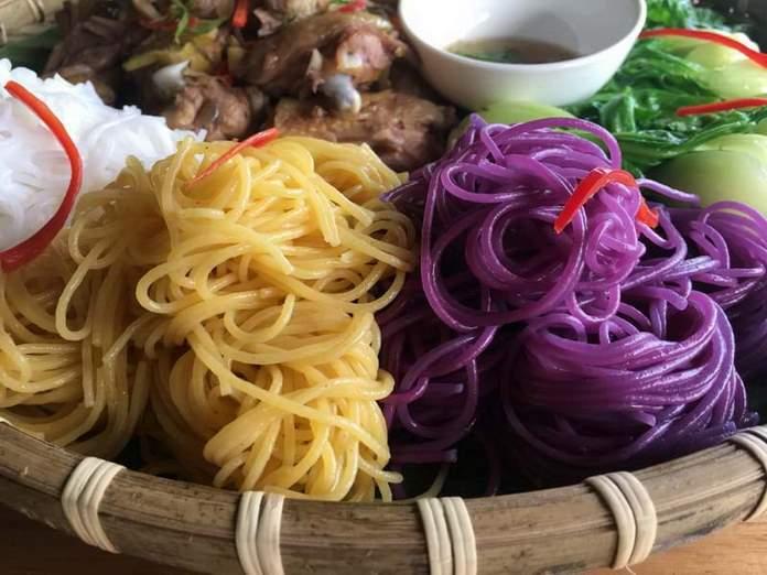 Món ngon từ bún bắp Phú Yên