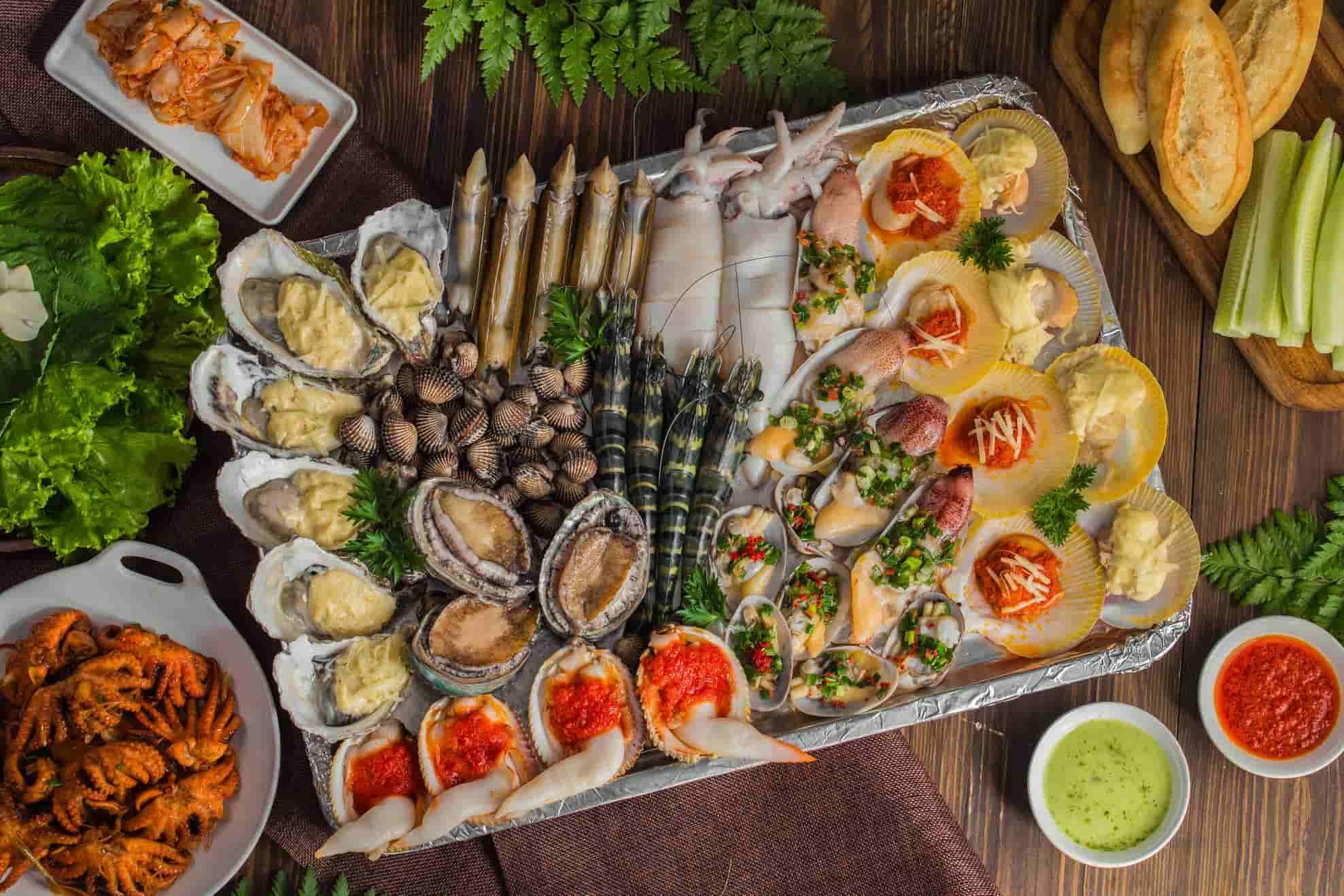 Quán hải sản ngon ở Phú Yên ở Đầm Ô Loan